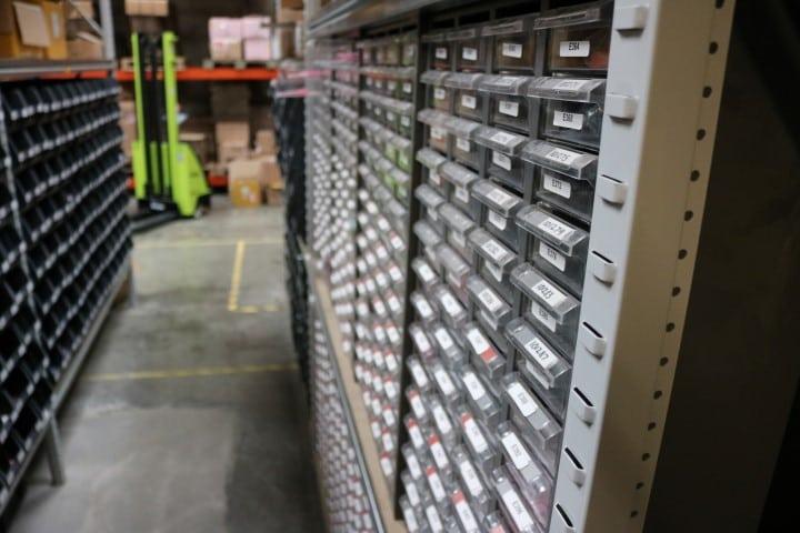 Metal product bins