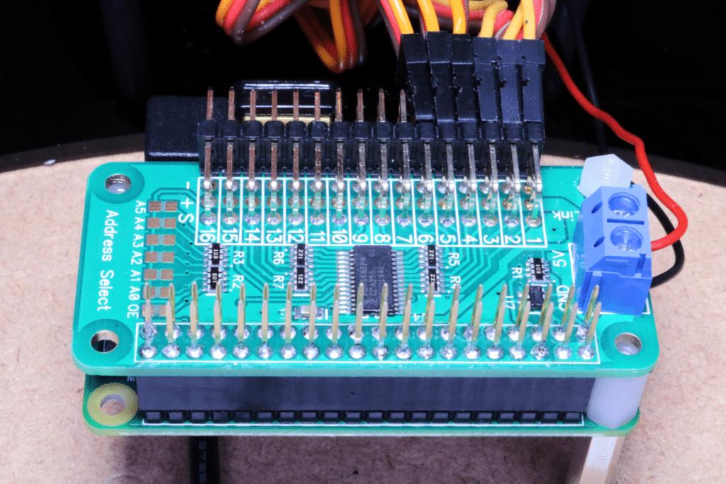 PWM Pi Zero Connected