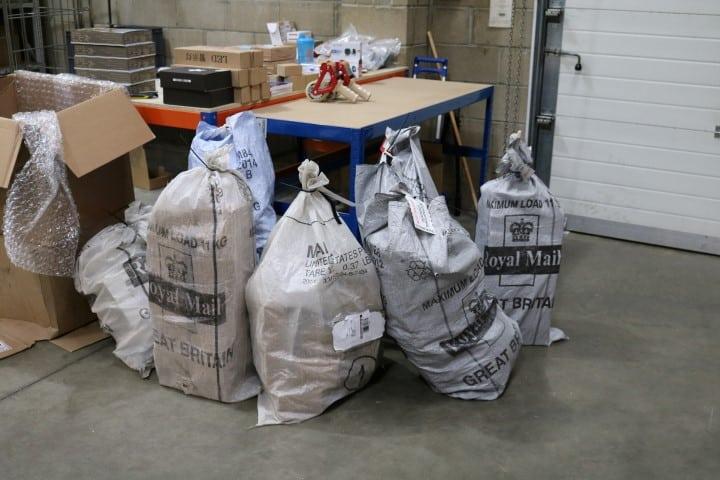 Pi Hut order sacks