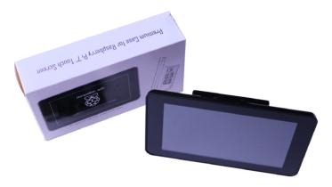 Raspberry Pi touchscreen display case options