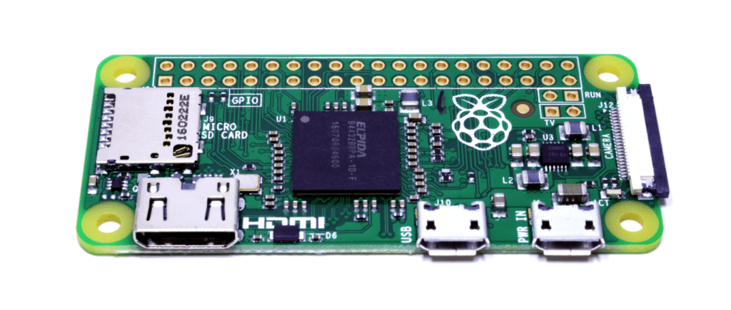 Raspberry Pi Zero version 1.3 front
