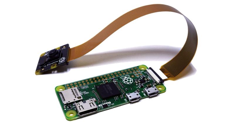 New Raspberry Pi Zero With Camera Module Interface | Average Maker