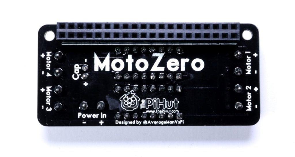 MotoZero PCB Rear