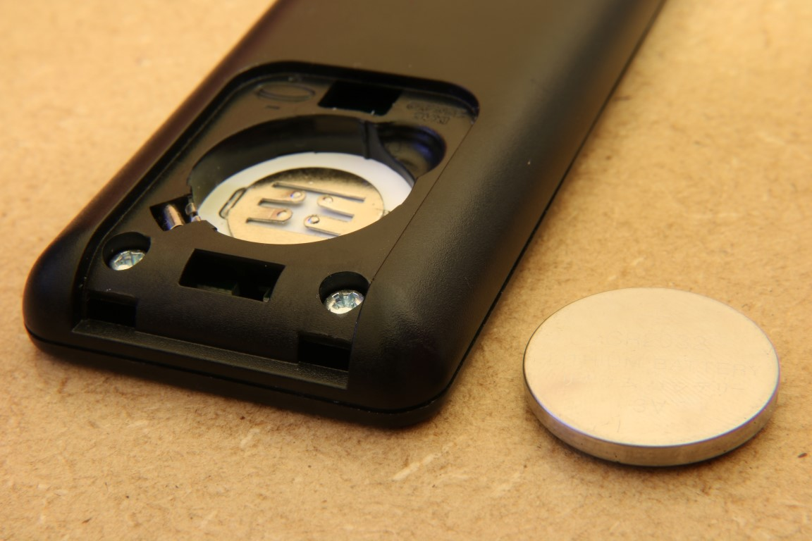 OSMC remote battery cover