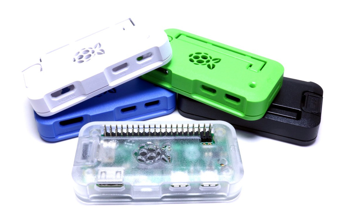 ModMyPi Pi Zero case colours