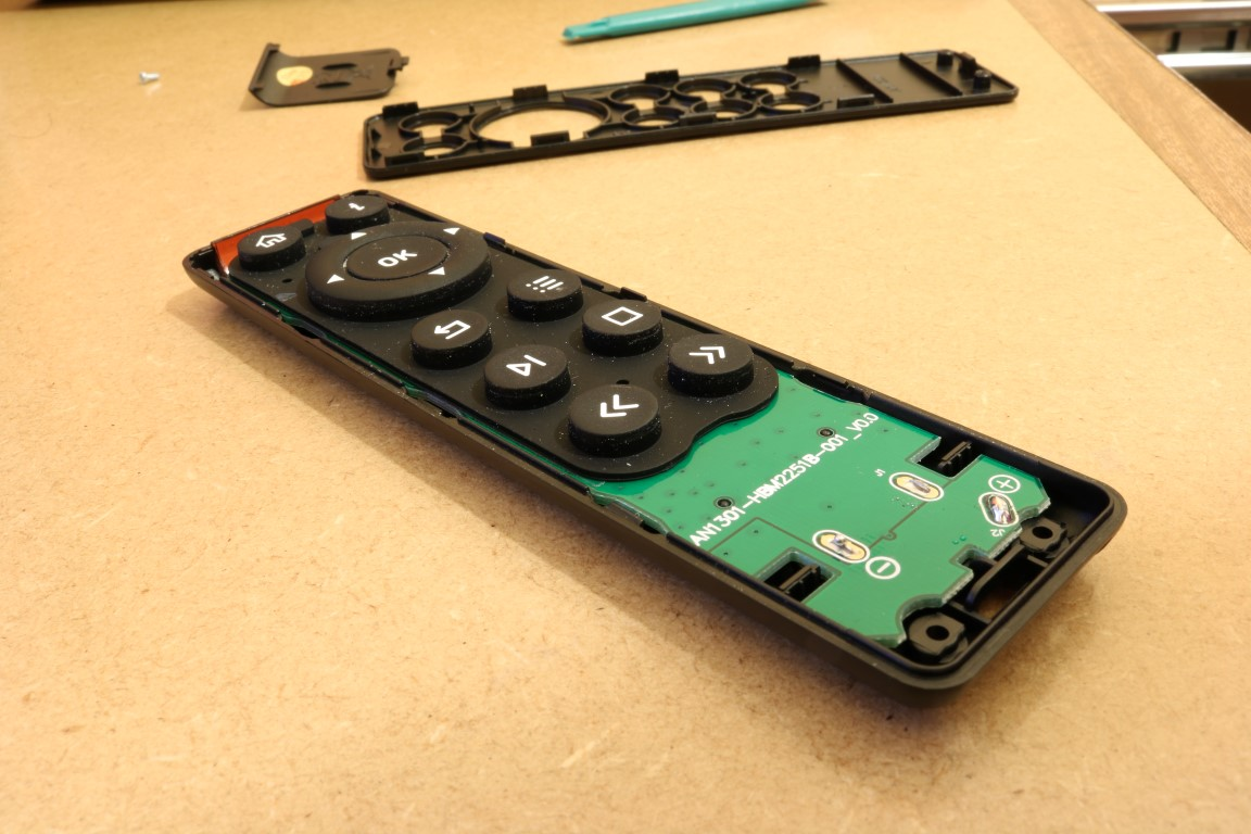 OSMC remote buttons