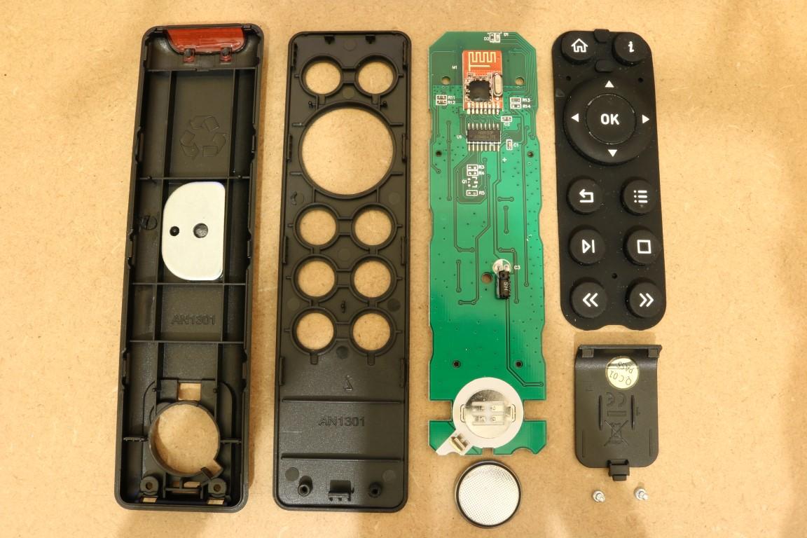 OSMC remote parts