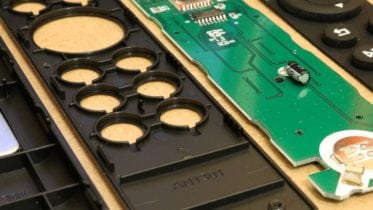 OSMC remote pieces