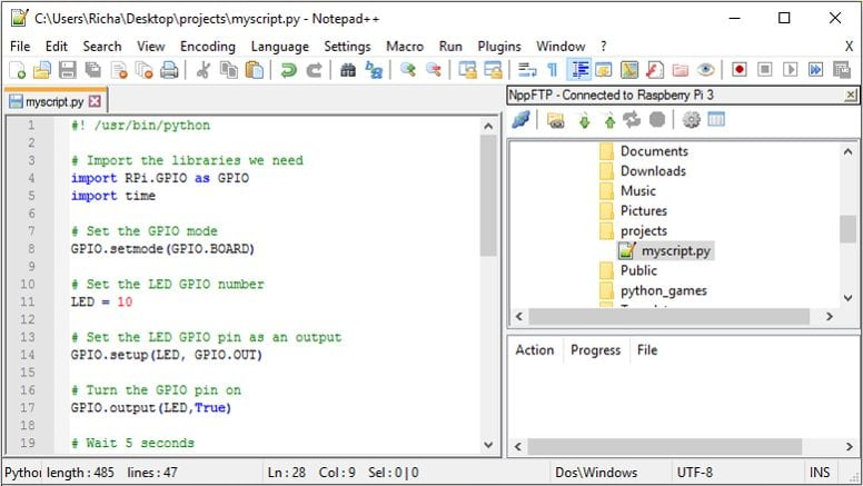 Notepad++FTP