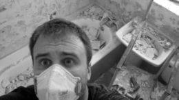 Bathroom Mess Average Man