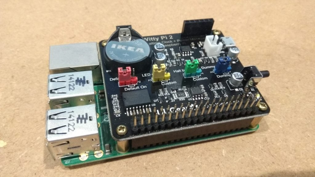 Witty Pi 2 assembled