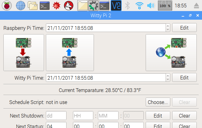 Witty Pi GUI