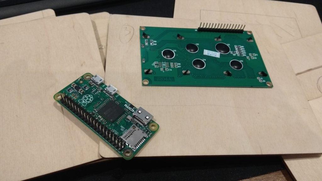 Raspberry Pi Custom 20x4 case