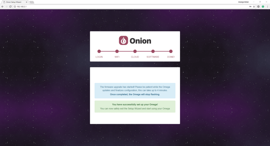 Onion Omega Setup Step 7