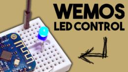 Wemos LED control