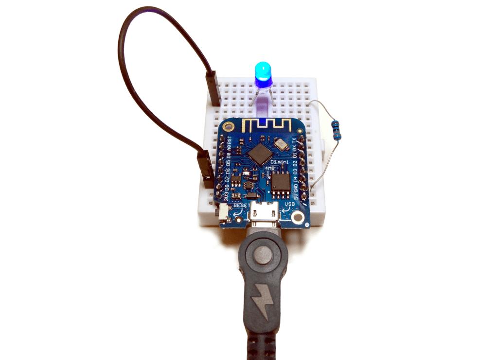 Wemos LED project
