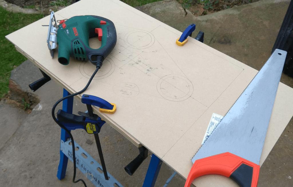 Arduino backlight mount cutting