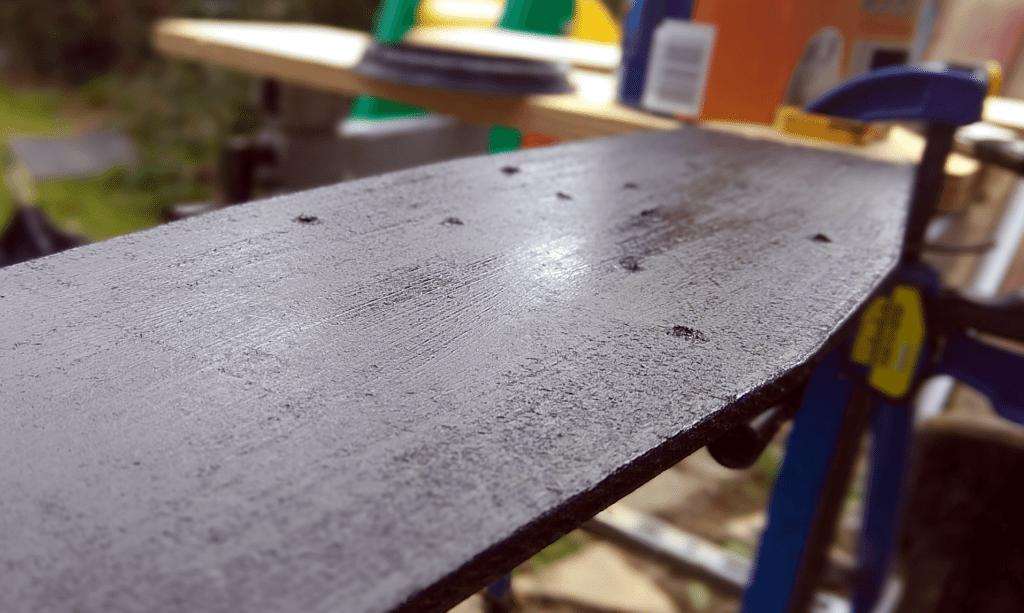 Arduino backlight mount paint
