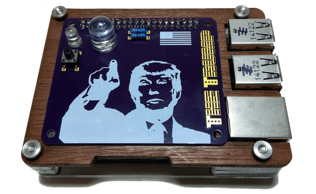 Trump Raspberry Pi board