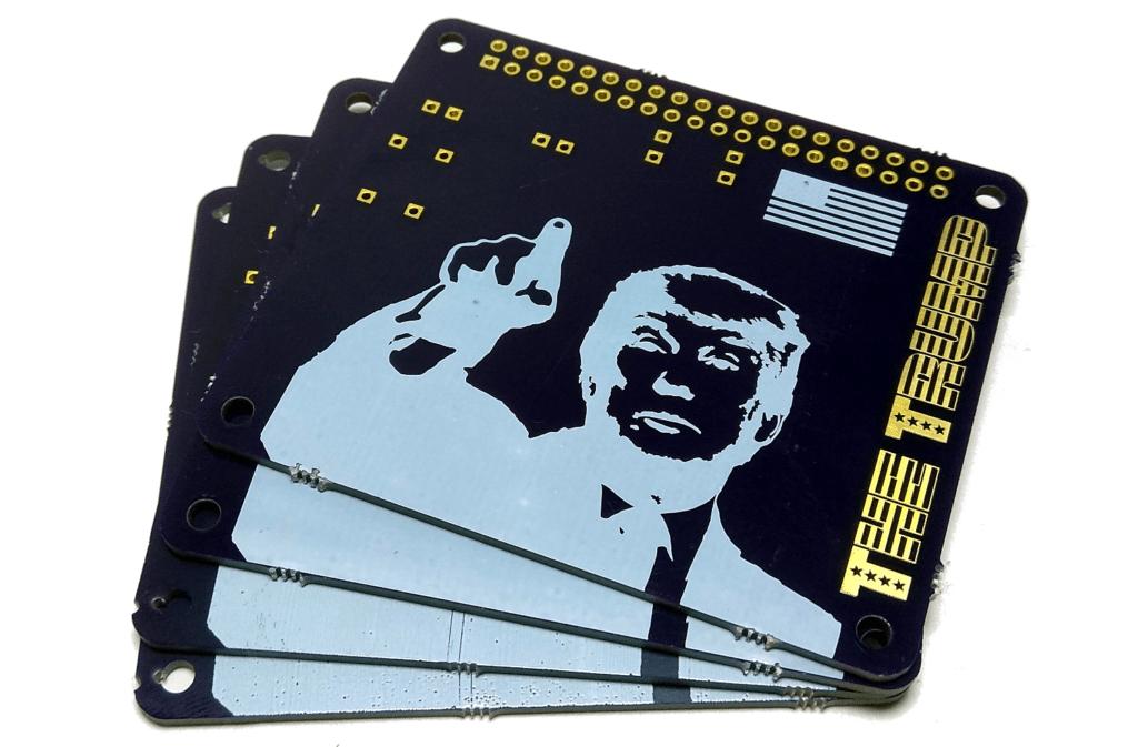 Trump PCB Front