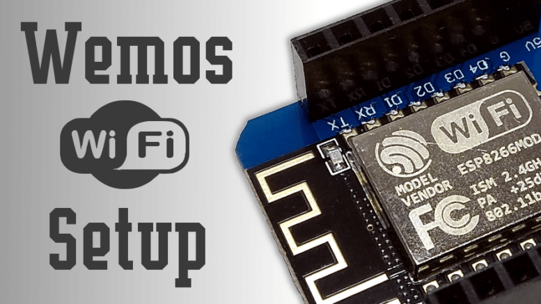 How To Set up WiFi on a Wemos | Average Maker