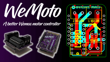 Wemoto Wemos Motor Controller