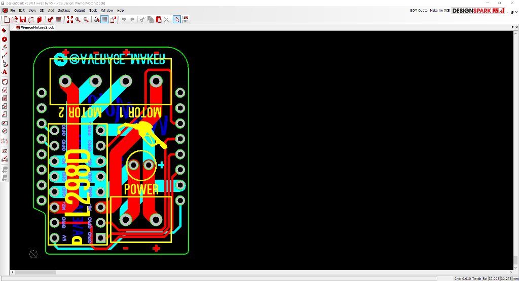 DesignSpark PCB Layers