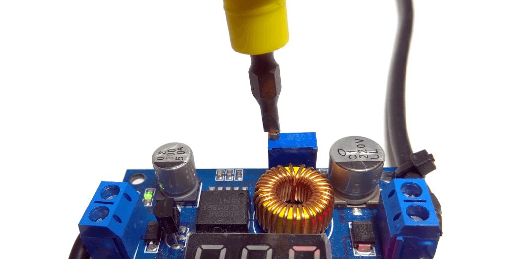 Buck converter potentiometer
