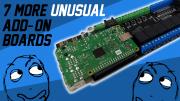 7 Unusual Raspberry Pi Add-on Boards