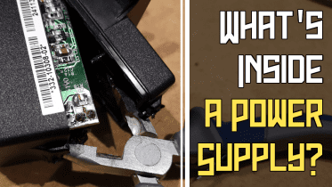 What's inside a power supply