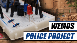 Wemos Police Project