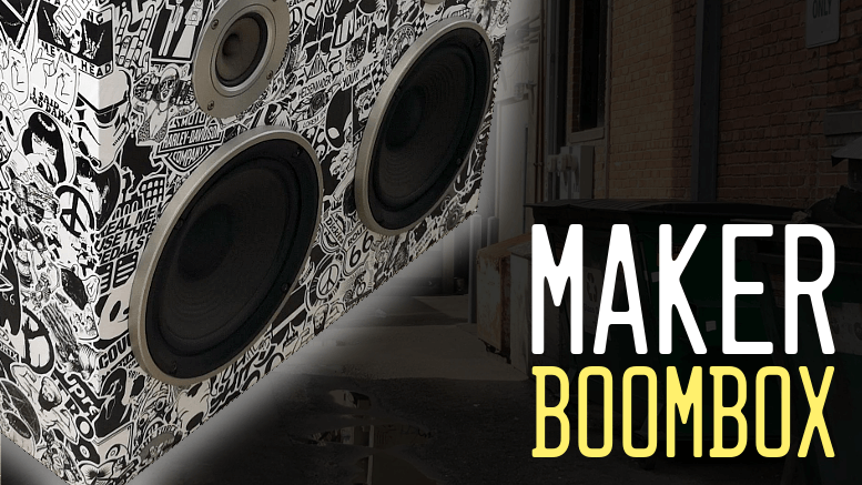 Maker Boombox Title