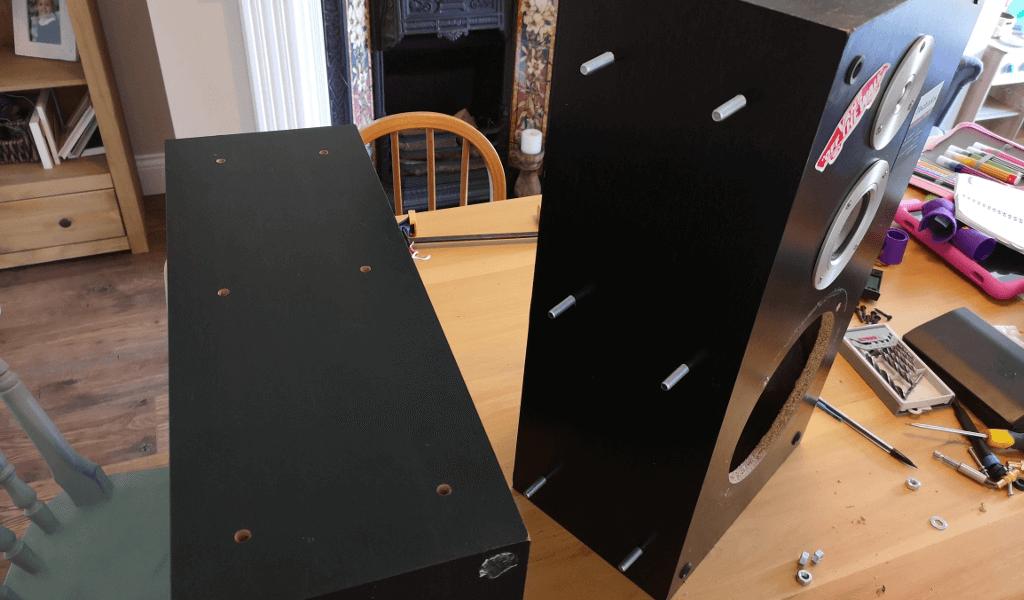 Speaker bolts