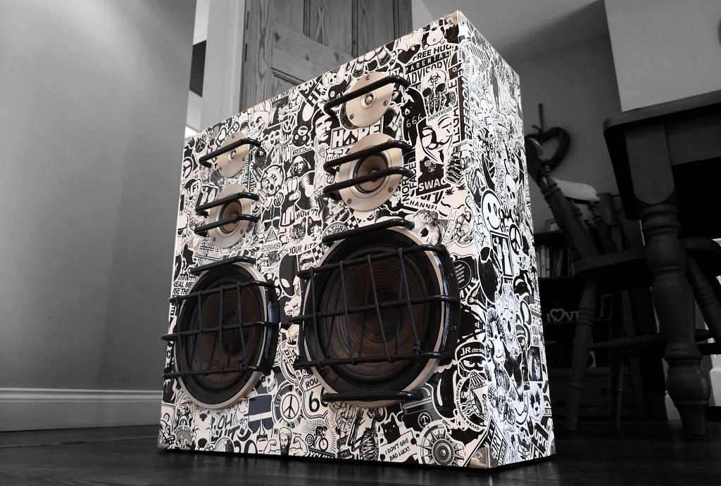 Speaker box finished